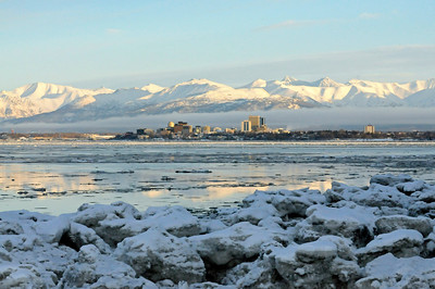 Point Woronzof - Winter - Anchorage - Alaska - USA