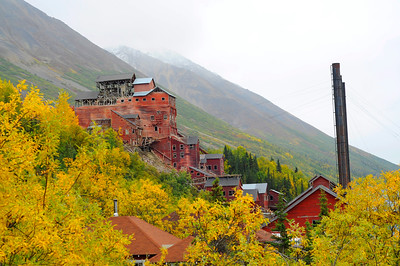 Kennecott Concentration and Smelting Plant - Kennicott - Alaska - USA