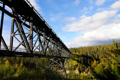 Kuskulana River Bridge - Road to McCarthy - Alaska - USA