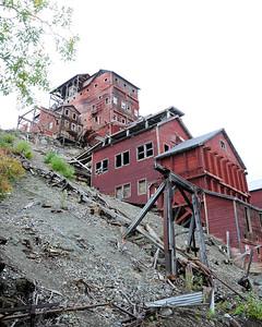 Kennecott Concentration and Smelting Plant - Kennicott - Alaska - USA