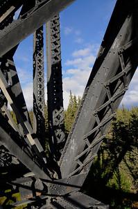 Kuskulana River Bridge - Road to McCarthy - Alaska - USA