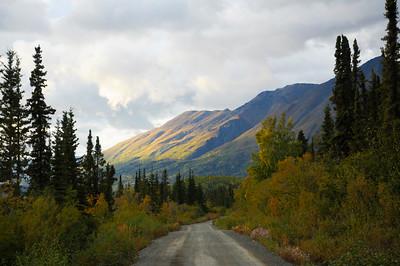 Road to McCarthy - Dirt Road - Alaska