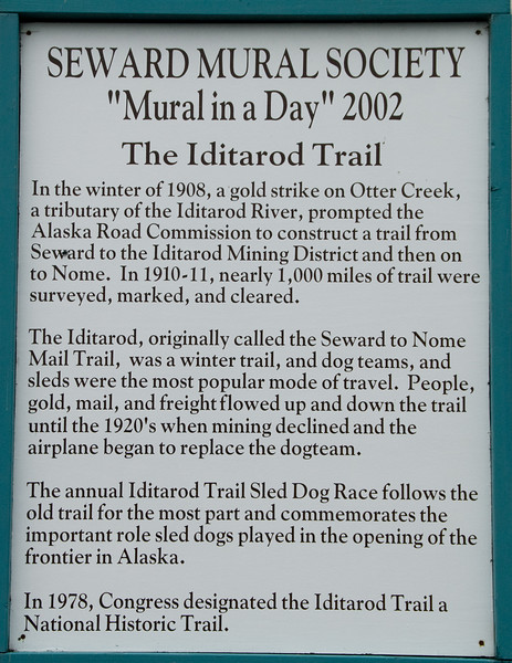 History of the Iditarod Trail.
