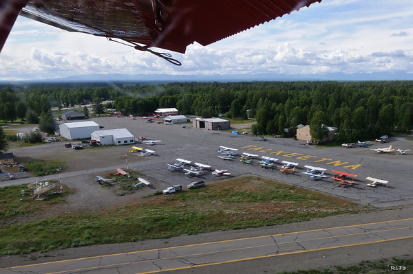 Airborne in a deHaviland Beaver, an Alaskan workhorse.