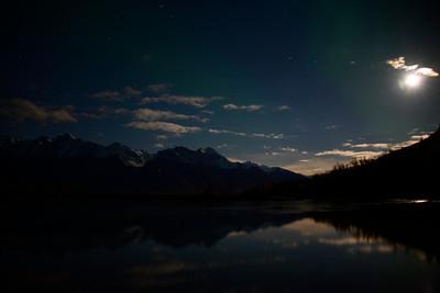 Alaska Travel Photography -  Palmer - Aurora Borealis / Northern Lights