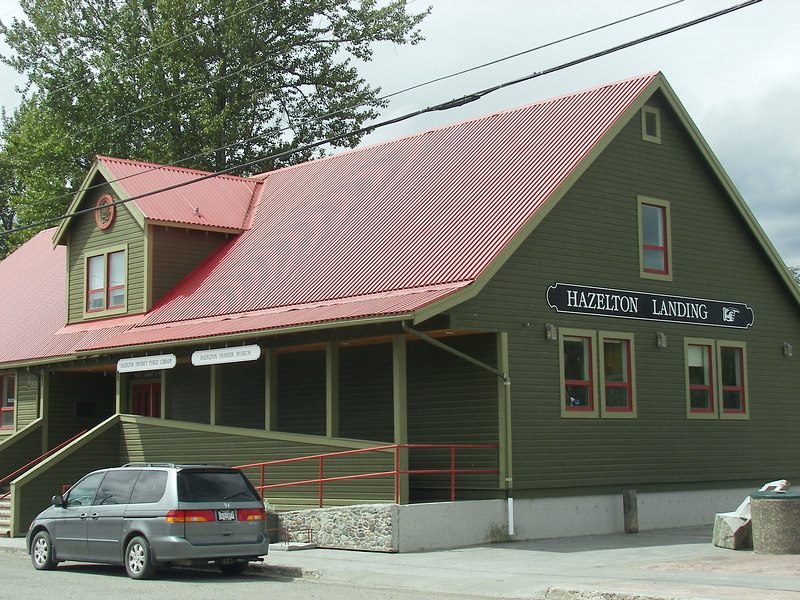 "The frontier spirit lives on in Hazelton. ""Old Town's"" restored heritage buildings serve as a reminder of the days when Hazelton was the commercial centre of the Northwest wilderness."