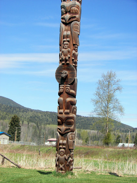 Totem Polls at Kispiox