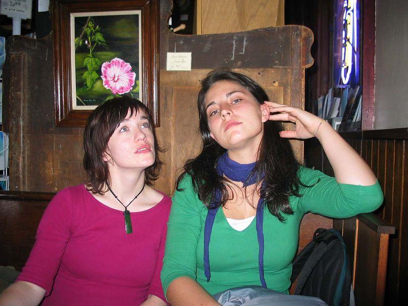 Rhoda and Laura