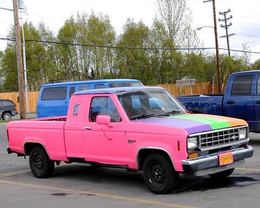 Truck - Duct Tape Truck - Transportation - Anchorage - Alaska - USA