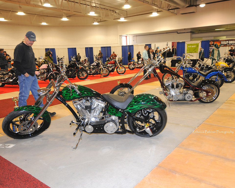 Custom Cycle Show - Ben Boeke Arena - Anchorage - Alaska - USA