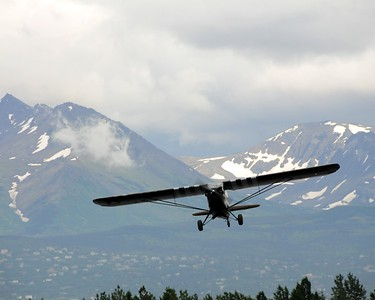 Piper Super Cub - Plane - Transportation - Lake Hood - Anchorage - Alaska - USA