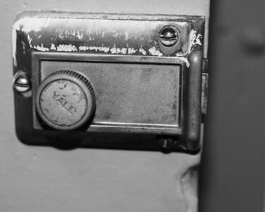 Randomness -  Old Yale Door Lock - Anchorage - Alaska - USA