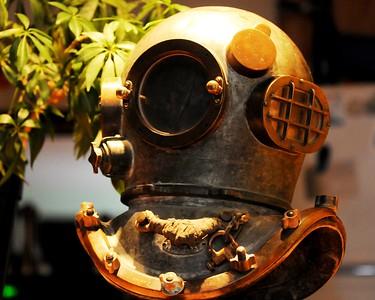 Antique Helmet - Anchorage - Alaska - USA