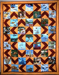 Alaskan Quilt - Anchorage - Alaska - USA