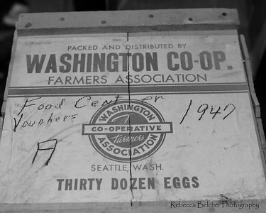 Egg Crate from 1947 - Anchorage - Alaska
