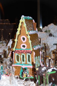 Gingerbread Holiday Village - Captain Cook Hotel - Downtown - Anchorage - Alaska