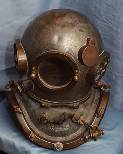 Antique Helmet - Anchorage - Alaska - USA