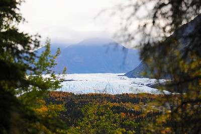 Alaska Travel Photography - Matanuska Valley - Matanuska Glacier