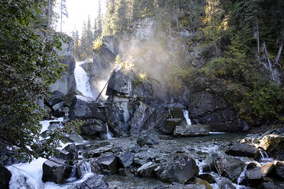 "Liberty Falls - Copper River Valley - Alaska - USA  ""Liberty Falls State Recreational Site is located near Chitina in the Copper River Valley. The site is located just off the road and adjacent to the cascading Liberty Falls and Creek."""
