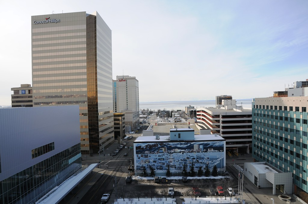 Downtown Anchorage - Building - Architecture -  Anchorage - Alaska - USA