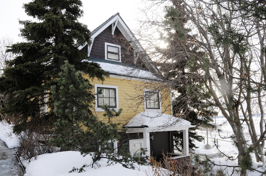 Oscar Anderson - Historical House from 1915 - Downtown Anchorage - Building - Architecture -  Anchorage - Alaska - USA