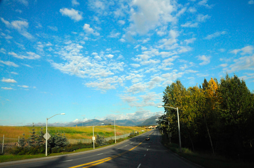 Blue Skies - Anchorage - Alaska - USA
