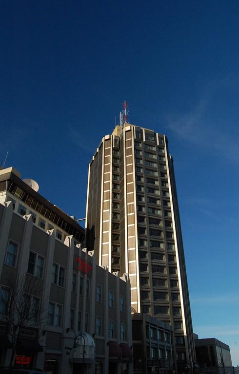 Hilton Hotel - Downtown Anchorage - Building - Architecture -  Anchorage - Alaska - USA