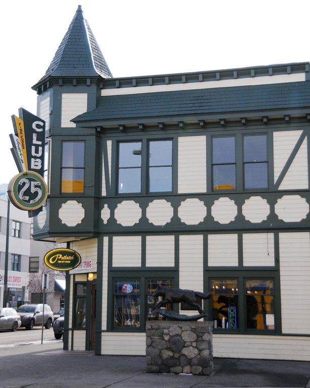 Historical Club 25 - Fourth Avenue - Downtown Anchorage - Building - Architecture -  Anchorage - Alaska - USA