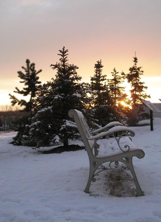 Sunset - Merrill Field - Anchorage - Alaska