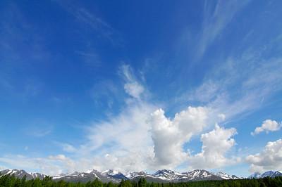 Clouds over the Chugach Range - Anchorage - Alaska - USA