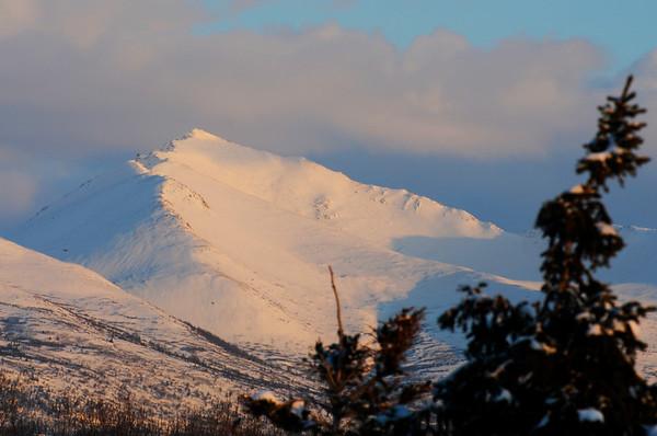 Mountains at Sunset - Anchorage - Alaska - USA
