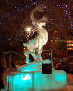 Ice Sculpture, Anchorage, Alaska