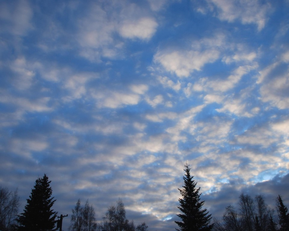 Clouds - Scenic - Anchorage - Alaska - USA
