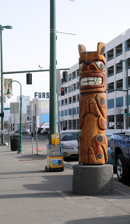 Fourth Avenue - Downtown Anchorage - Building - Architecture -  Anchorage - Alaska - USA