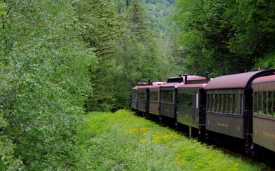 Skagway train to Whitehorse