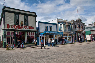 Skagway, Alaska is a small town with some 1800 buildings.
