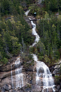Pitchfork Falls from the highway
