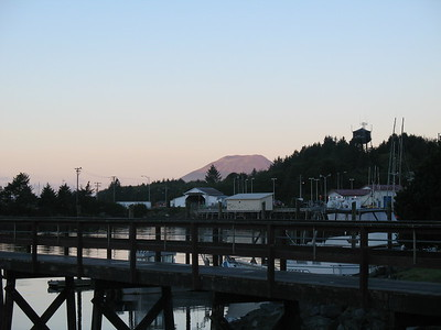 Mt. Edgecome - Sitka - Sunrise - Southeast - Alaska - USA