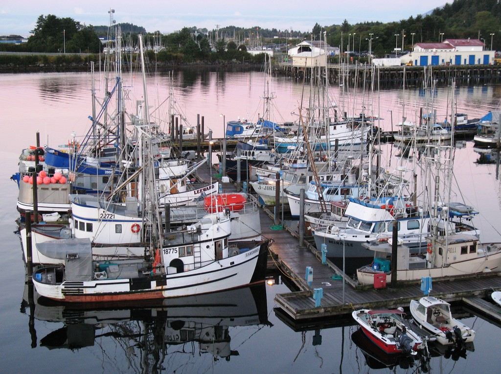 Sitka Harbor - Sunrise - Southeast - Alaska - USA