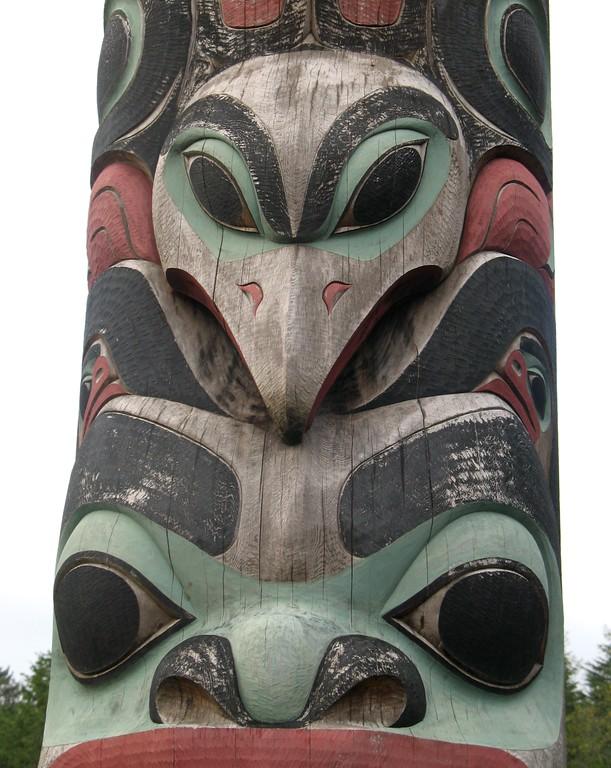Totem Pole - Sitka - Southeast - Alaska - USA