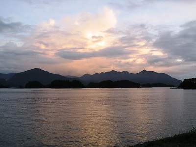 Sitka - Sunset - Southeast - Alaska - USA