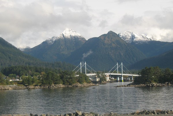 Sitka - View from Airport - Southeast - Alaska - USA
