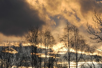 Sunrise - New Year's Day 2011 - Anchorage - Alaska - USA