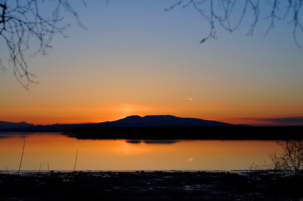 Sunset - Sleeping Lady - Anchorage - Alaska  - USA