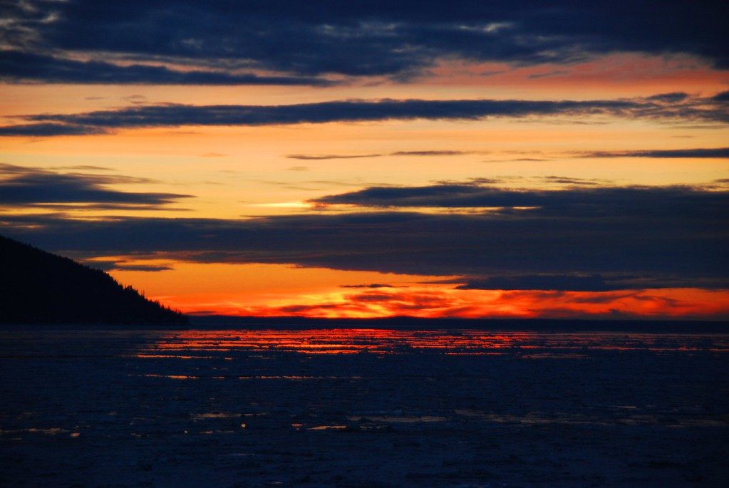 Sunset - Turnagain Arm - Alaska  - USA
