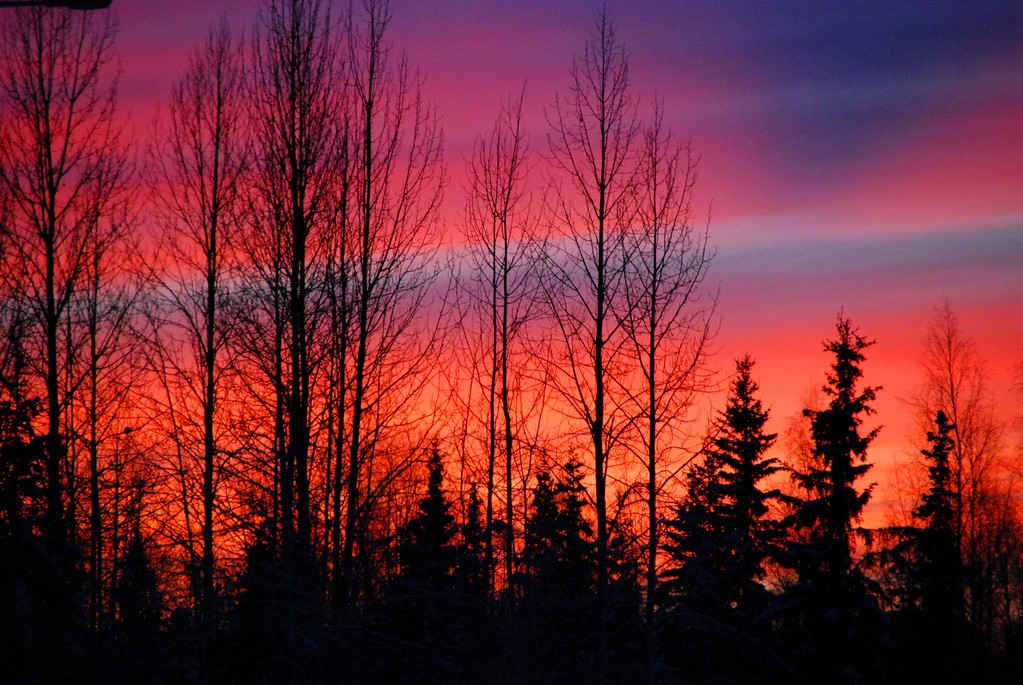 Sunset - Anchorage - Alaska  - USA