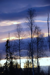 Sunrise - Big Lake - Alaska  - USA