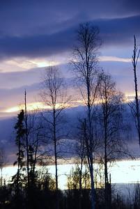 Sunrise - Big Lake - Alaska  - USA