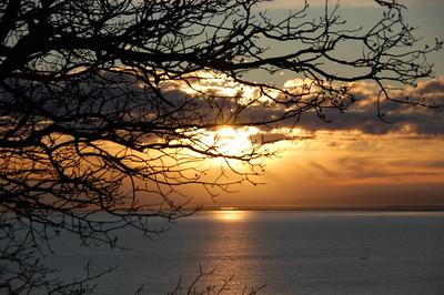 Sunset - Point Woronzof - Anchorage - Alaska  - USA