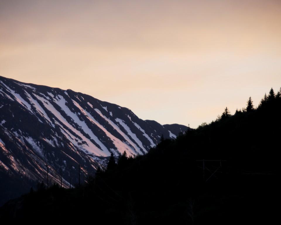 Sunset - Turnagain Arm - Alaska  - USA